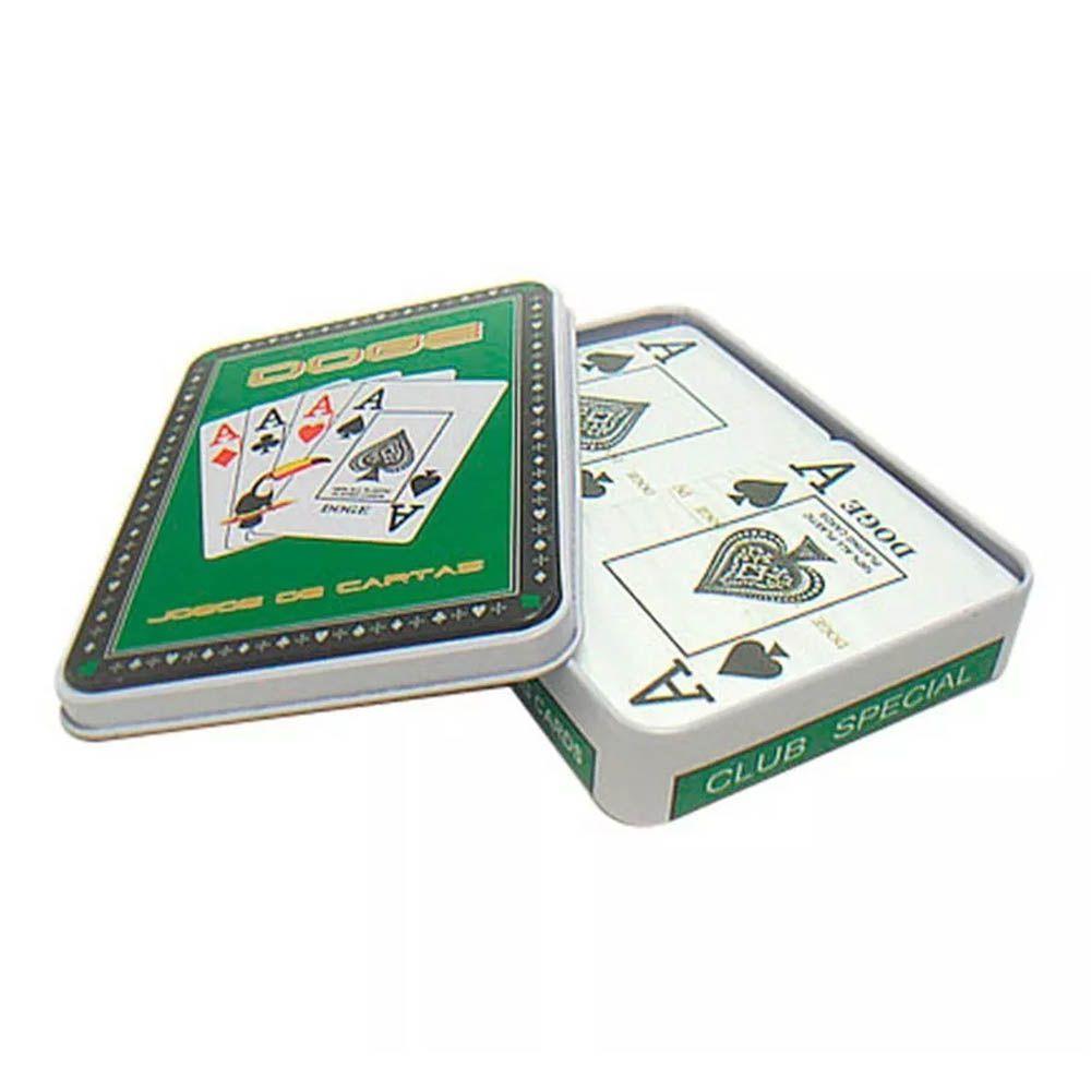 Baralhos - Cartas de Truco/Poker - Plástico - Duplo - Na Lata - Blessed