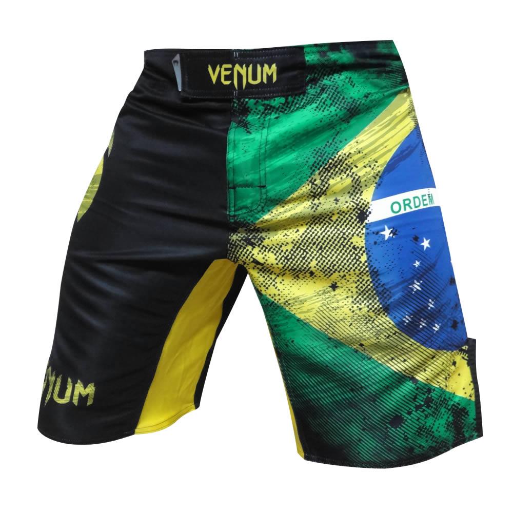 Bermuda de Treino Fight - Bandeira Brazilian Flag - Venum
