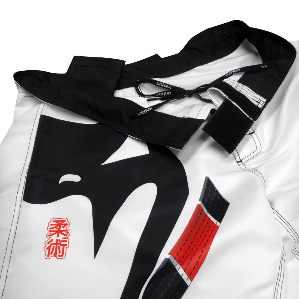 Bermuda de Treino Fight - Black Belt Ice - Branca - Venum   - Loja do Competidor