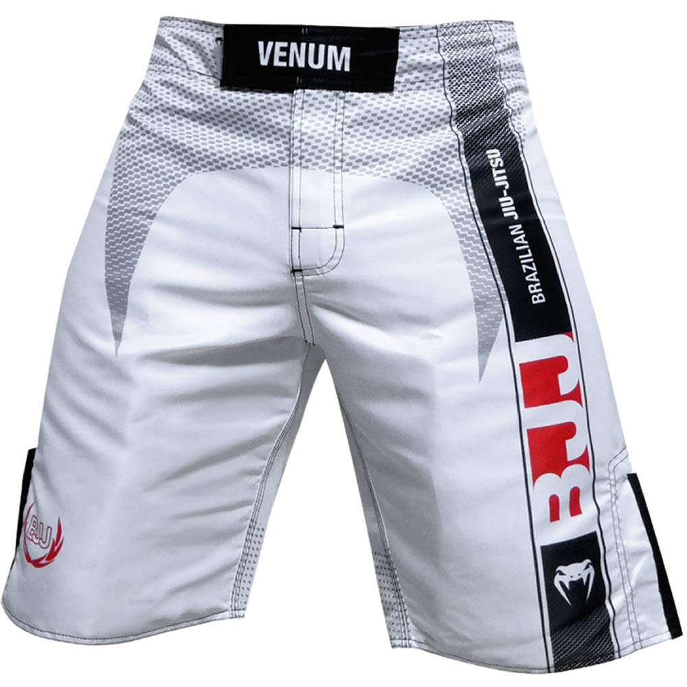 Bermuda de Treino Fight - Jiu Jitsu Vertical - Branca - Venum