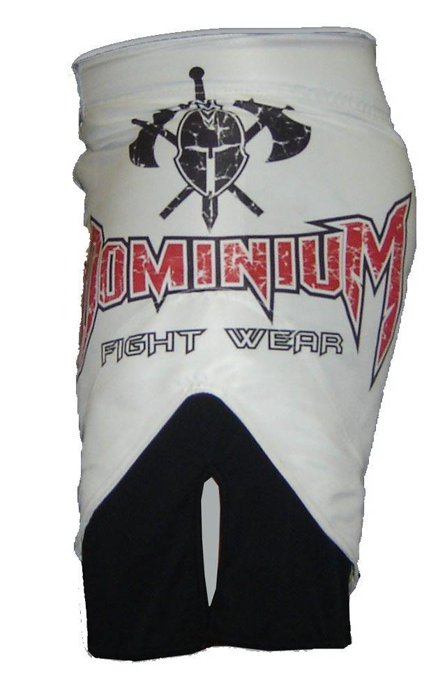 Bermuda Jiu Jitsu MMA Japan - Branca / Preto -  Dominium  - Loja do Competidor