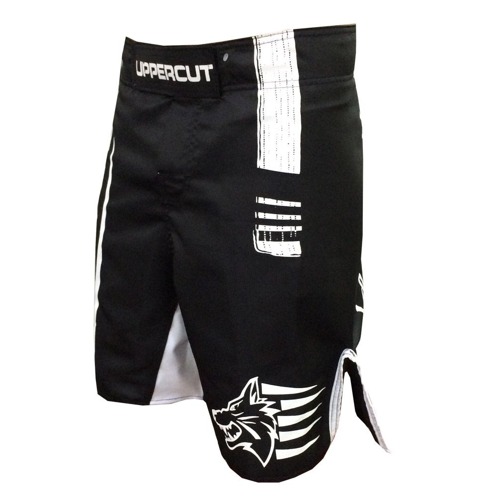 Bermuda Jiu Jitsu - White Belt - V2 -  Preto/Branco - Uppercut -