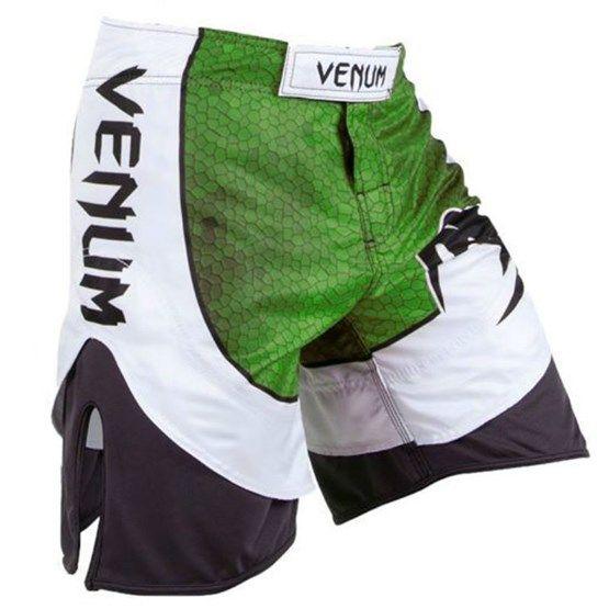 Bermuda MMA Amazônia 3.0 - Branco/Verde - Venum -