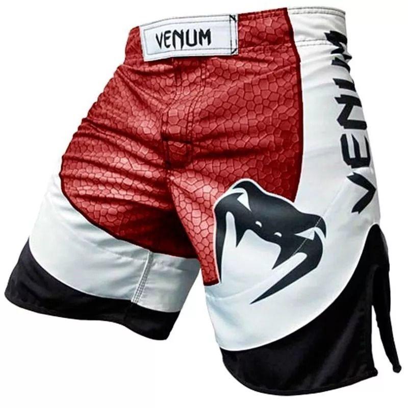 Bermuda MMA -Amazônia 3.0 Vintage - Preto/Vermelho- Venum