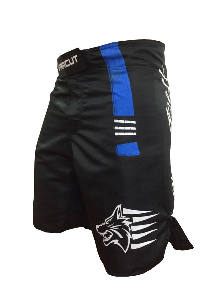 Bermuda Jiu Jitsu - Blue Belt -  Preto/Azul- Uppercut - - Loja do Competidor