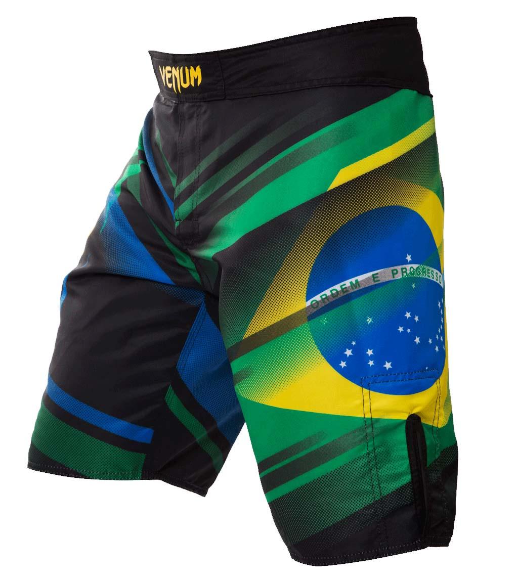 Bermuda MMA - Brazilian Flag 2.0 - Preto - Venum .