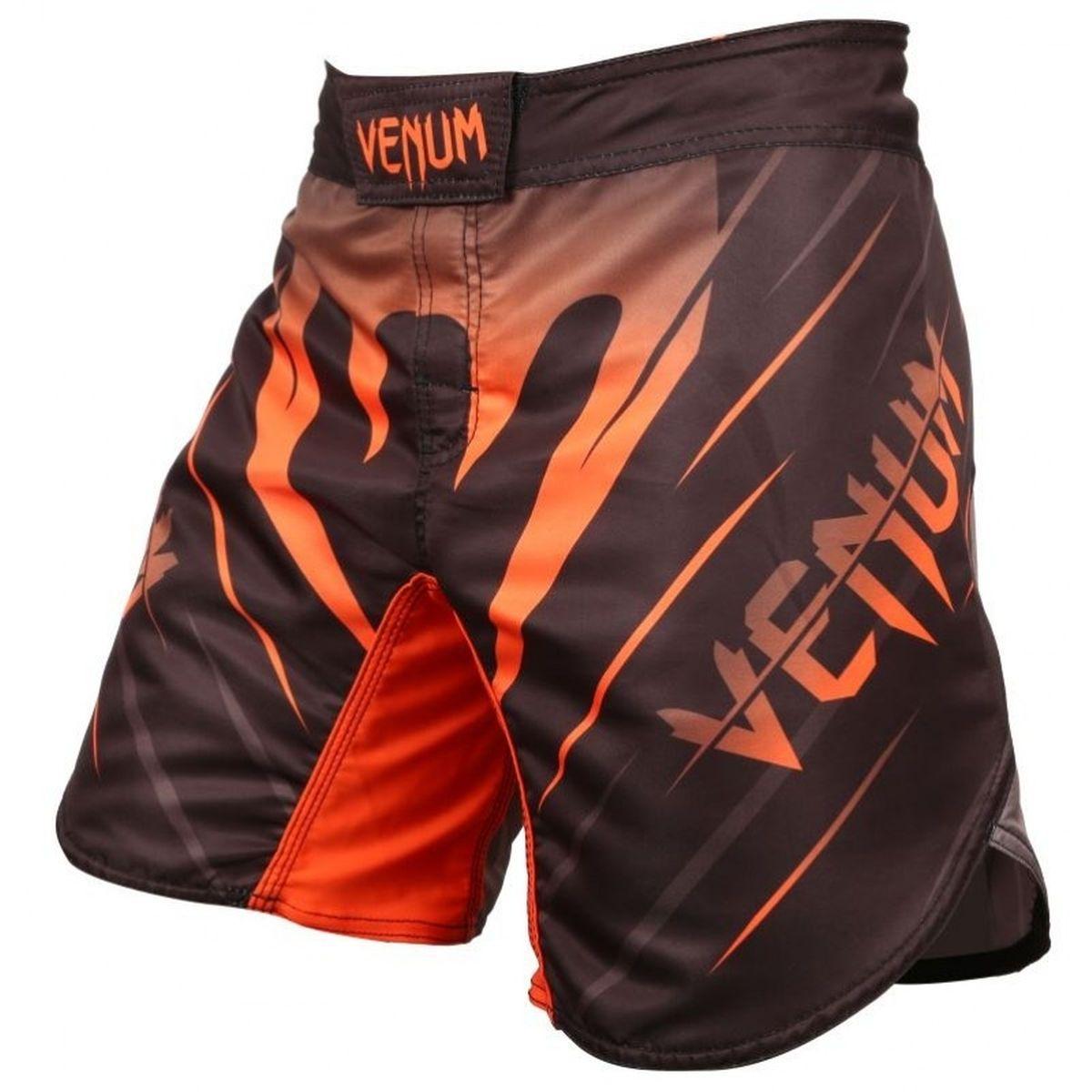 Bermuda MMA - Brutale - Preto/Laranja - Venum Fight