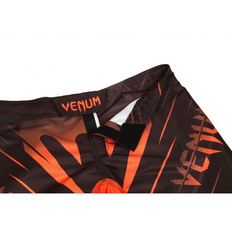 Bermuda MMA - Brutale - Preto/Laranja - Venum Fight  - Loja do Competidor