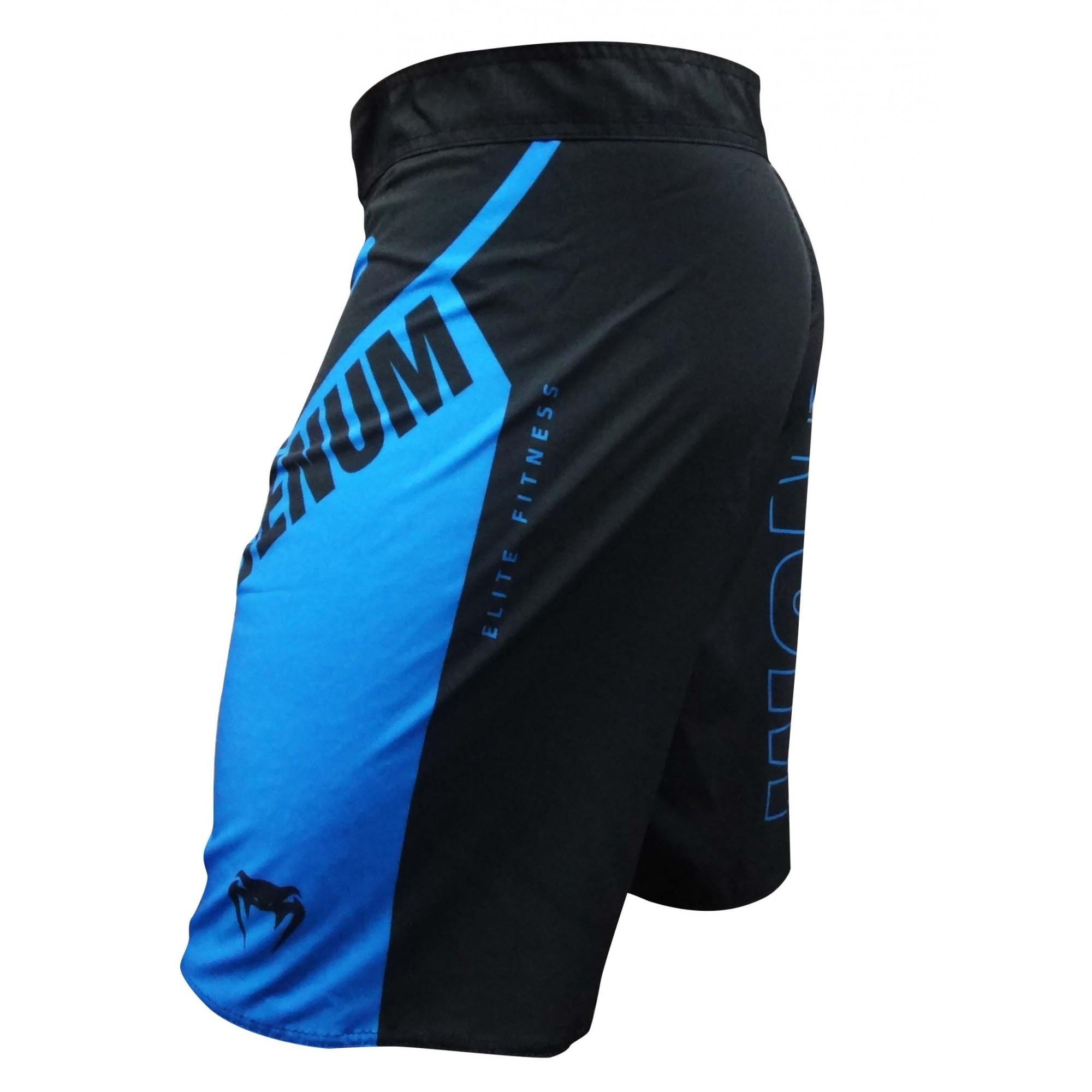 Bermuda MMA - Face- Preto/Azul- Venum .  - Loja do Competidor