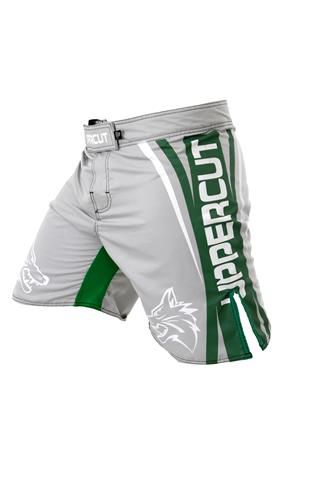 Bermuda MMA - Fight Titanium - Cinza/Verde - Uppercut -  - Loja do Competidor