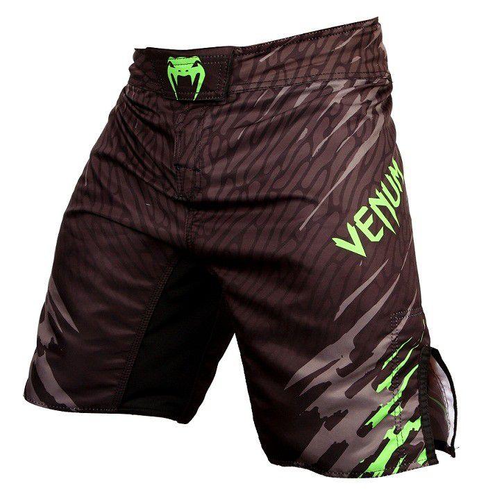 Bermuda MMA - Fireblade- Preto/Verde - Venum -