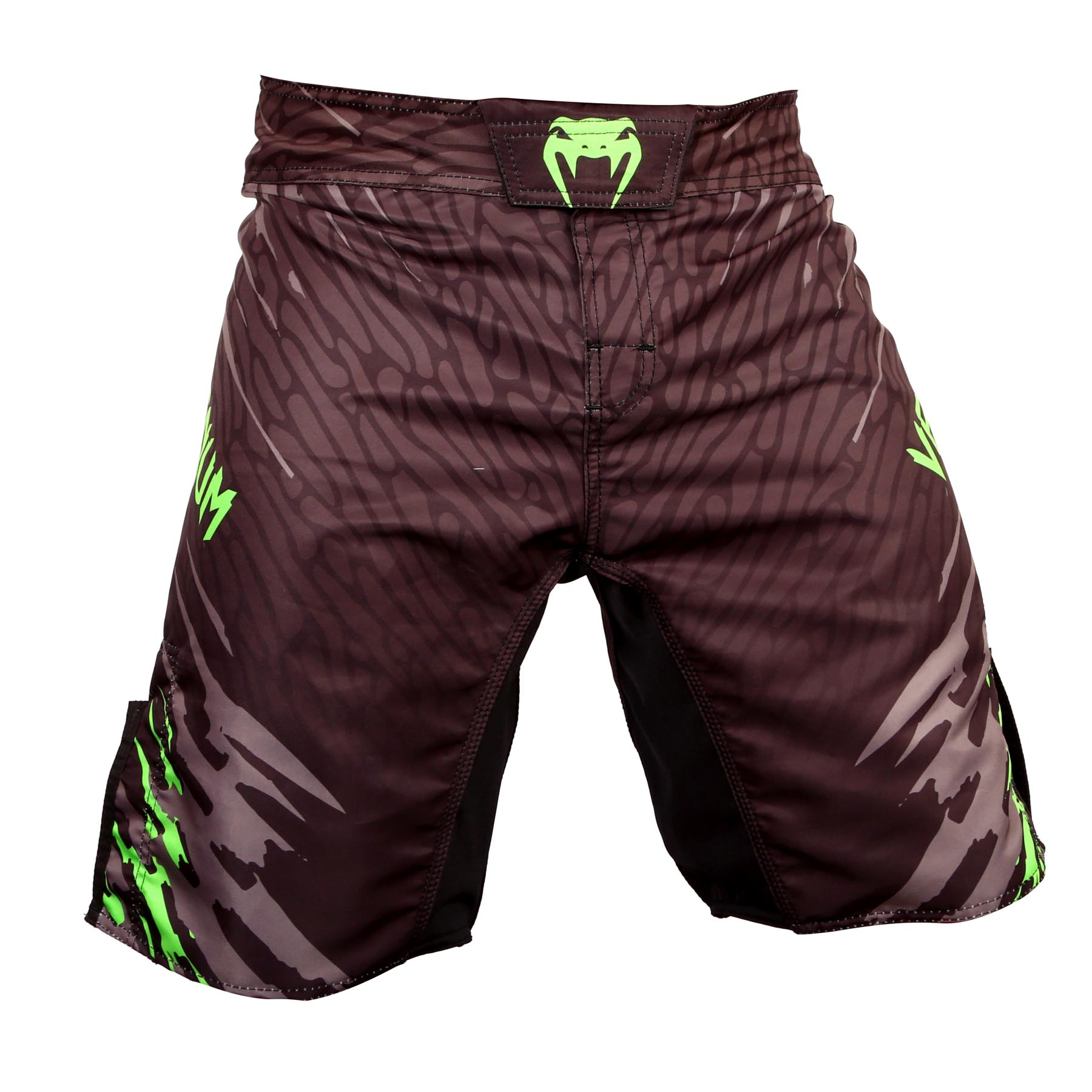 Bermuda MMA - Fireblade- Preto/Verde - Venum -  - Loja do Competidor