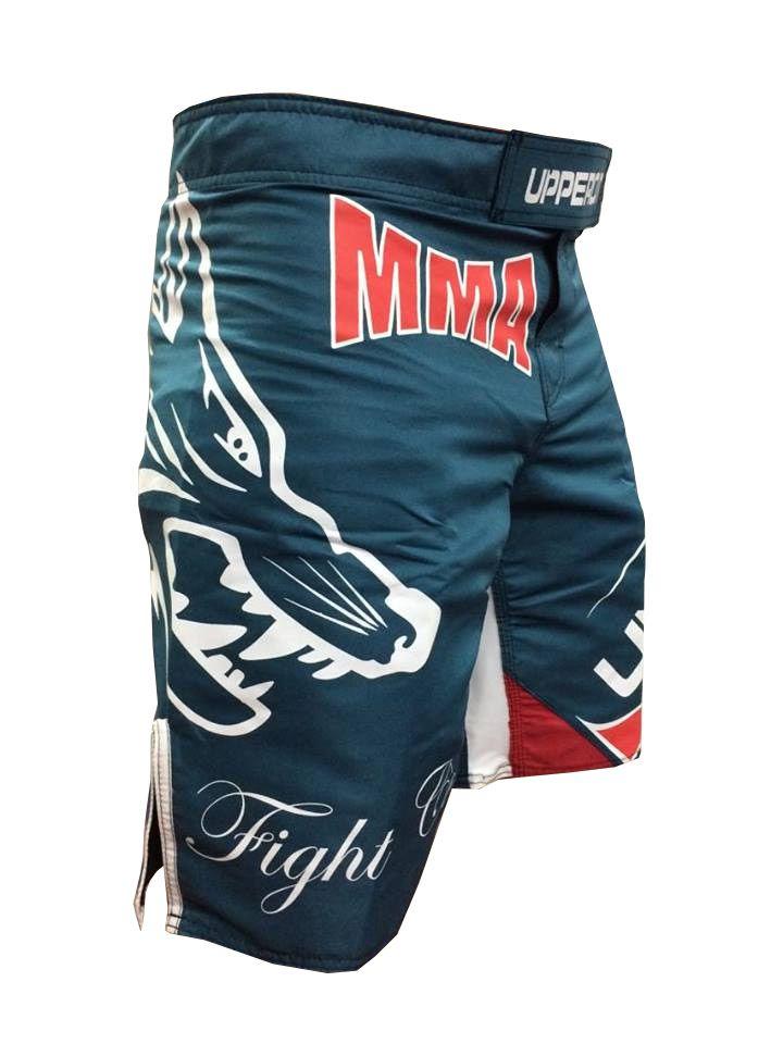 Bermuda MMA Forever Profissional - Verde - Uppercut  -  - Loja do Competidor