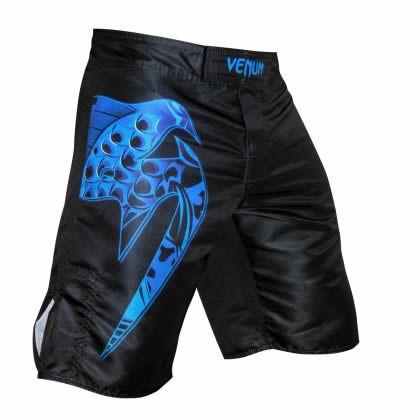 Bermuda MMA Giant Carpa - Preto/Azul - Venum -