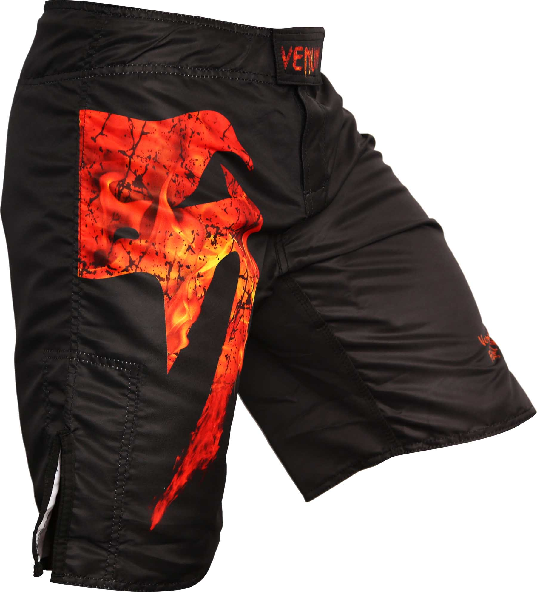 Bermuda MMA Giant Fire - Preto/Vermelho - Venum Fight