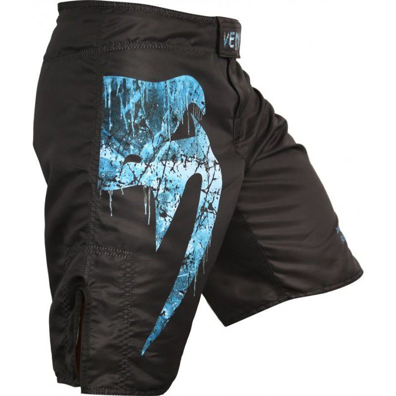 Bermuda MMA - Giant Ice - Preto/Azul - Venum -