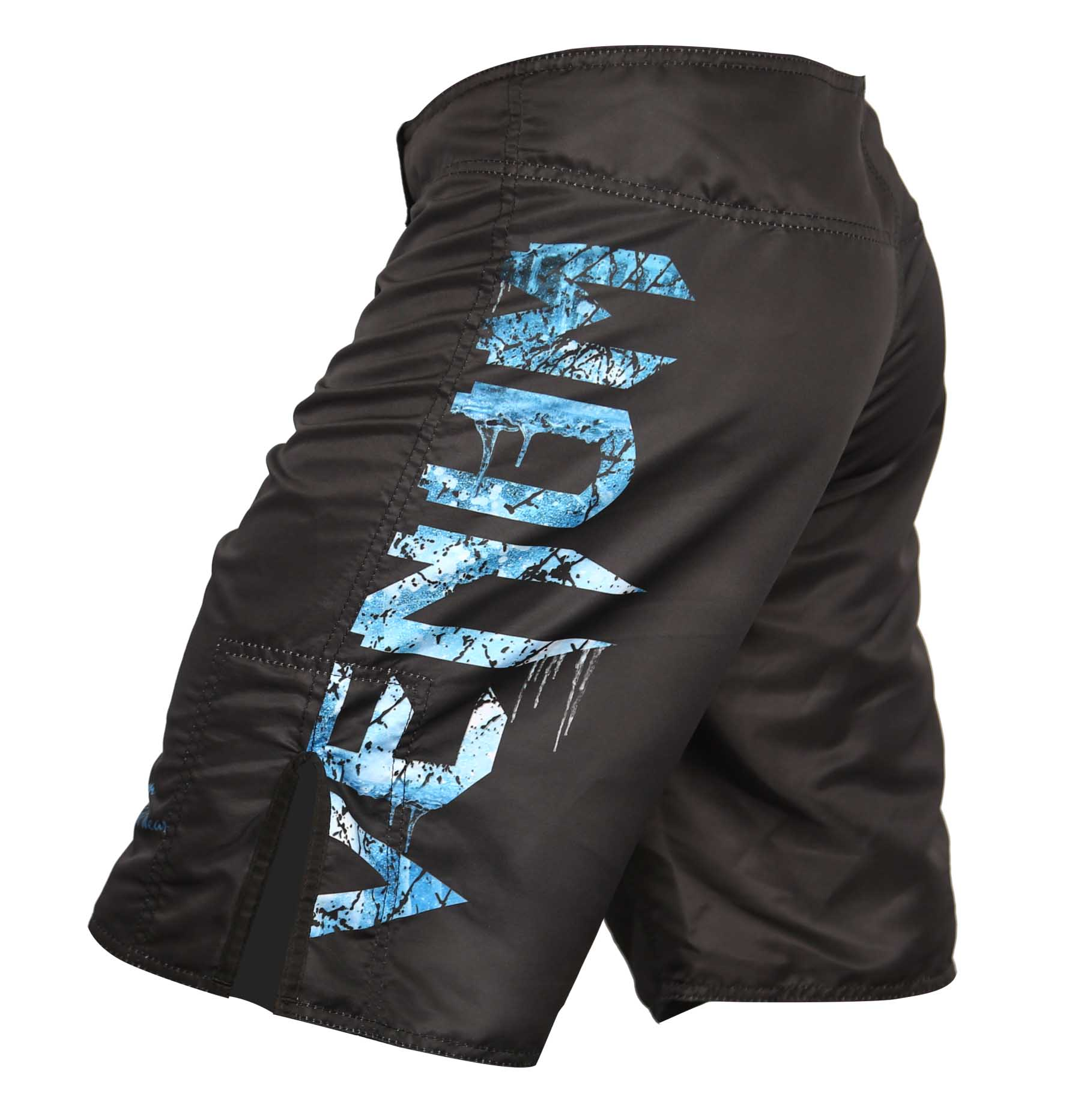 Bermuda MMA - Giant Ice - Preto/Azul - Venum -  - Loja do Competidor