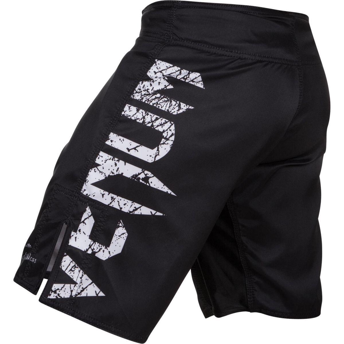 Bermuda MMA - Neo Camo Giant - Preto/Branco - Venum  - Loja do Competidor