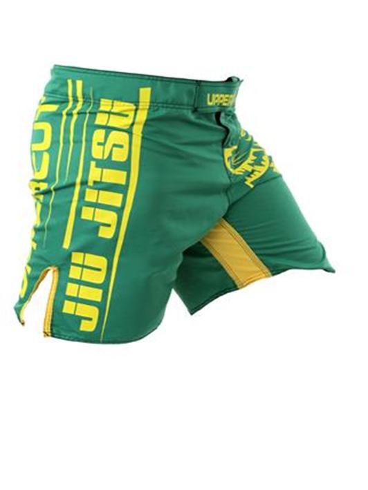 Bermuda MMA - Grappler Jiu Jitsu-  Verde/Amarelo - Uppercut .