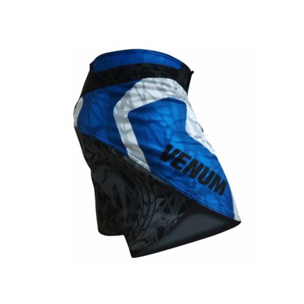 Bermuda MMA - Infinity- Preto/Azul- Venum