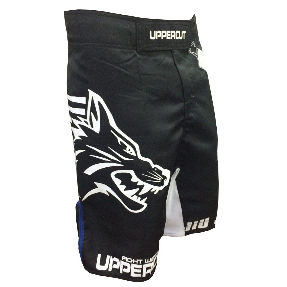 Bermuda MMA - Jiu Jitsu Goshi V2 - Preto/Azul - Uppercut .