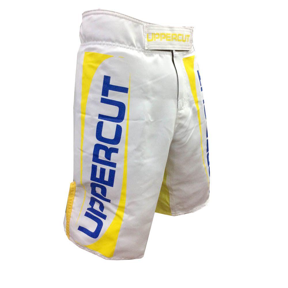 Bermuda MMA - Profissional - Patriota - Branca -  Uppercut