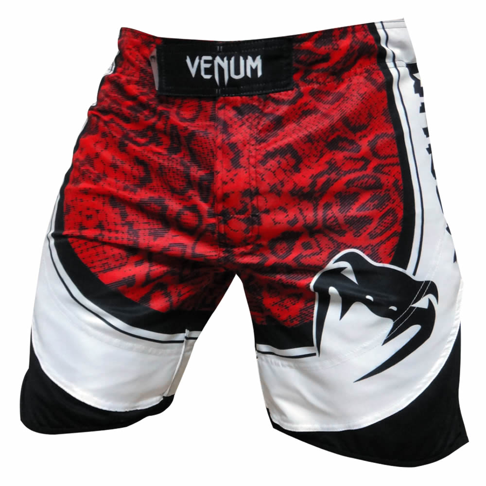 Bermuda MMA Red Devil - Preto/Verm - Venum