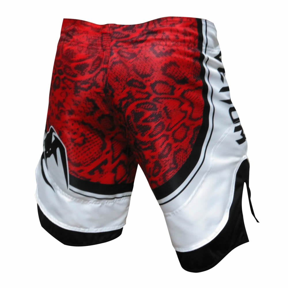 Bermuda MMA Red Devil - Preto/Verm - Venum  - Loja do Competidor