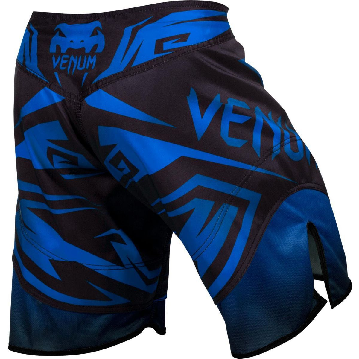 Bermuda MMA - Shadow Hunter- Preto/Azul- Venum  - Loja do Competidor