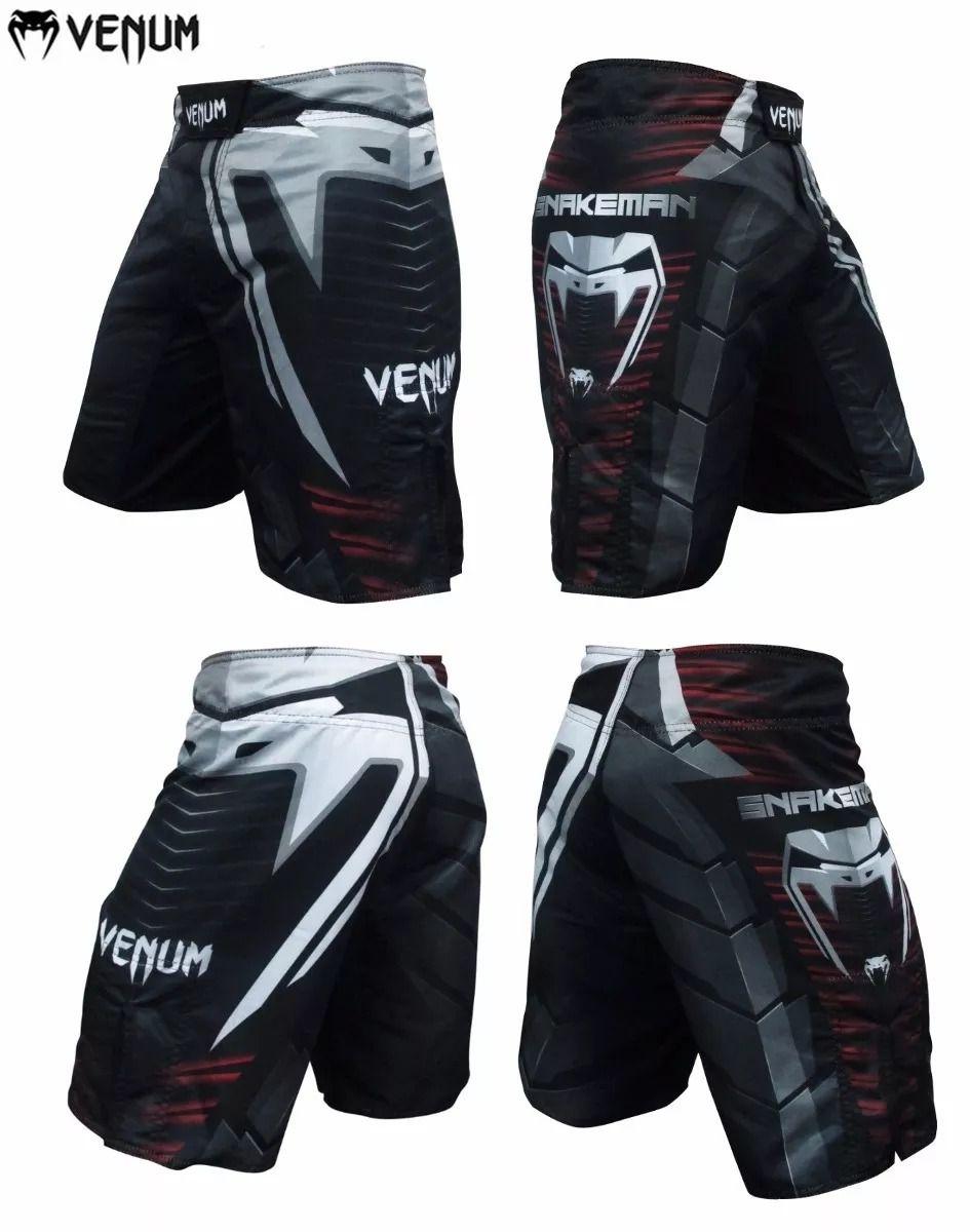 Bermuda MMA Snakeman - Cobra - Venum  - Loja do Competidor