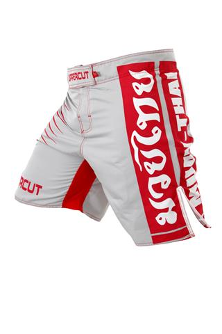 Bermuda MMA - Street Muay Thai - Cinza/Vermelha - Uppercut