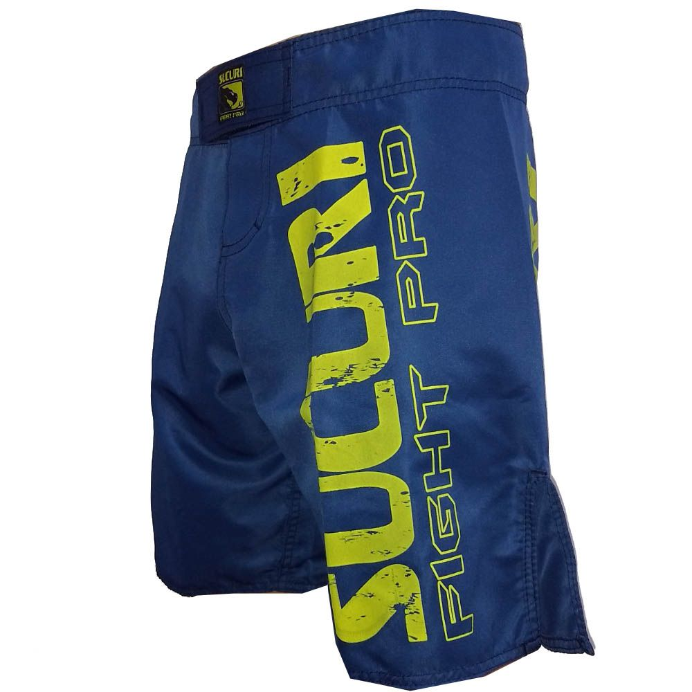 Bermuda MMA / Submission - Fight Pro - Azul - Sucuri