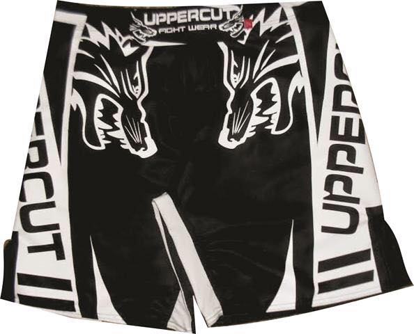 Bermuda MMA - Wolf Black & White - Uppercut .
