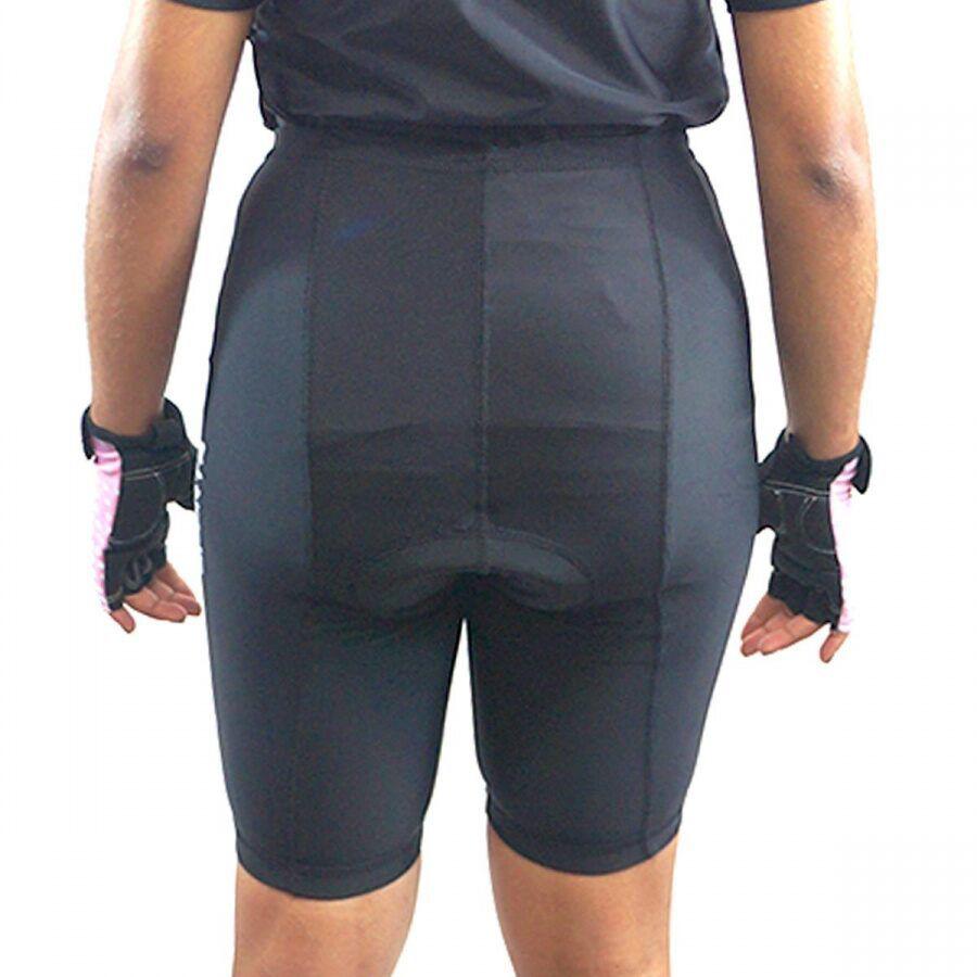 Bermuda Short para Ciclistas Acolchoada Unissex- UV-50 - Progne  - Loja do Competidor
