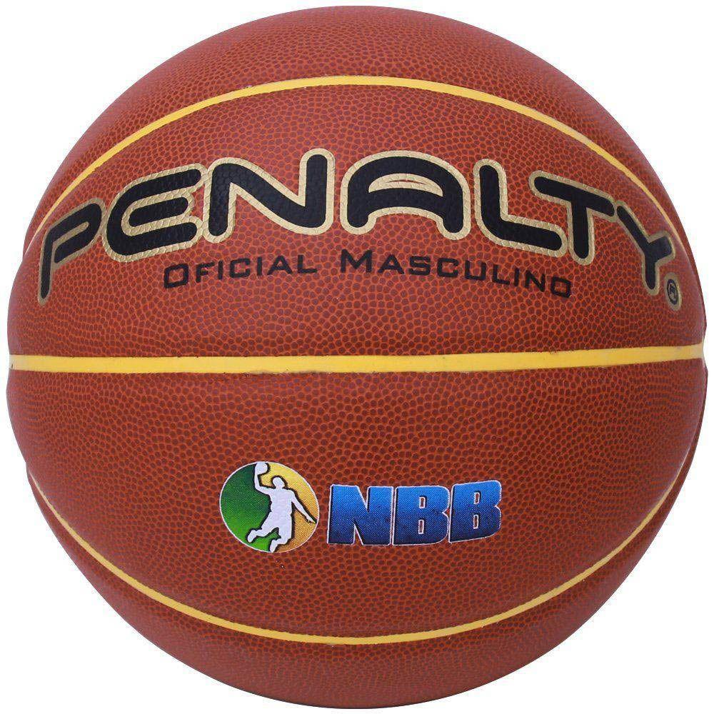 Bola de Basquete - Crossover 7.6 - Oficial - Masculino - Penalty  - Loja do Competidor