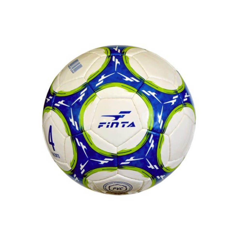 Bola de Futebol de Campo Escolinha Talento nº4 - 32 Gomos - Costurada- Finta  - Loja do Competidor