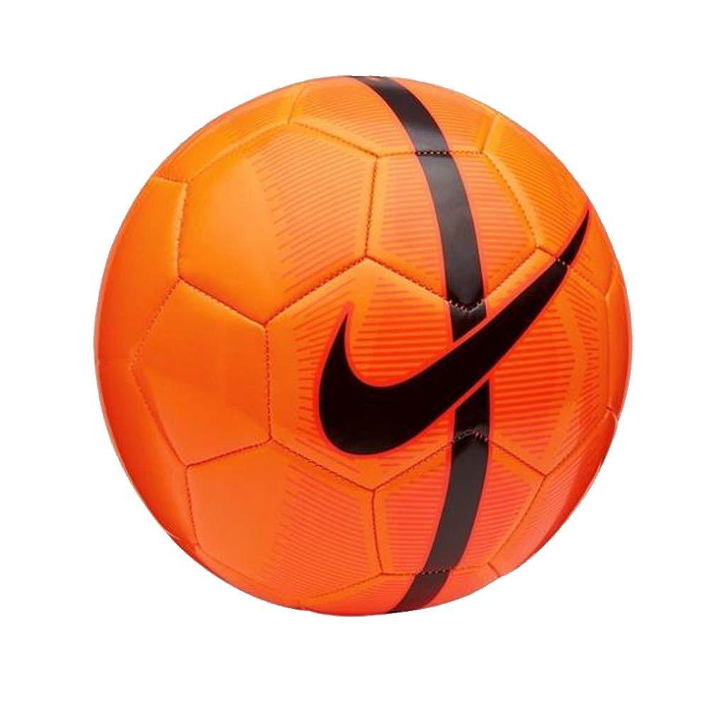 Bola de Futebol de Campo Mercurial Fade - 26 Gomos - Laranja Preto- Nike ... 04460888e90a4