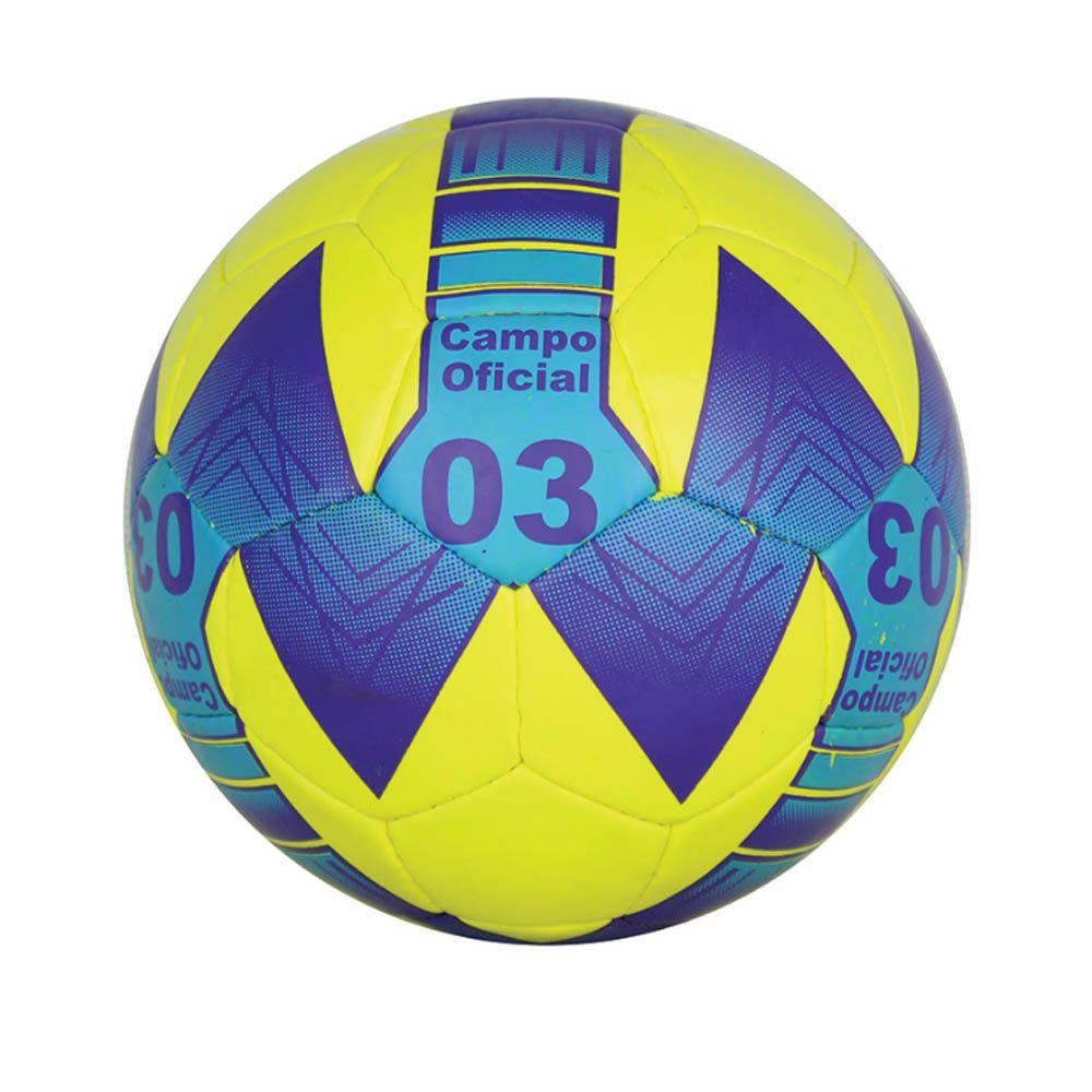 Bola de Futebol de Campo Oficial Costurada N3 - Pentagol