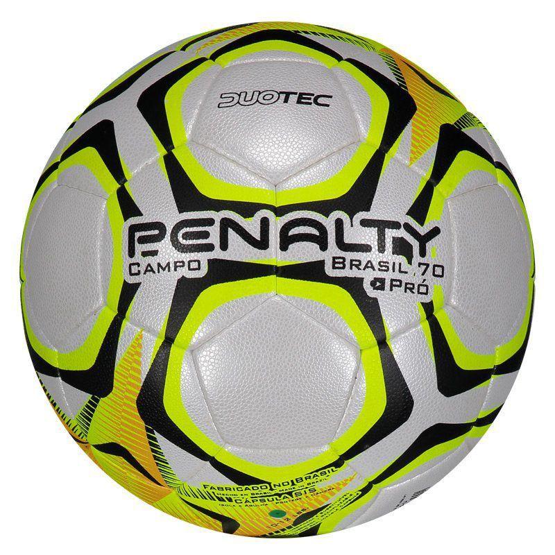 Bola de Futebol de Campo - Profissional- Brasil 70 Pro - Penalty  - Loja do Competidor