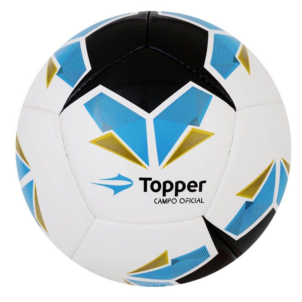 Bola de Futebol de Campo - Seleção BR IV - Branco - Topper
