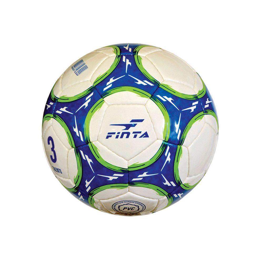 Bola de Futebol de Campo Escolinha Talento nº 3 - 32 Gomos - Costurada- Finta  - Loja do Competidor