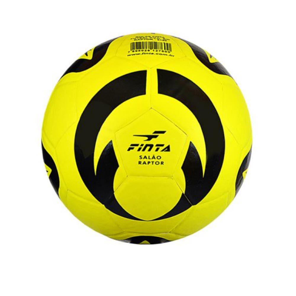 Bola de Futebol de Quadra/Salão - Futsal - Leader - Sem Costura - 32 Gomos - Finta