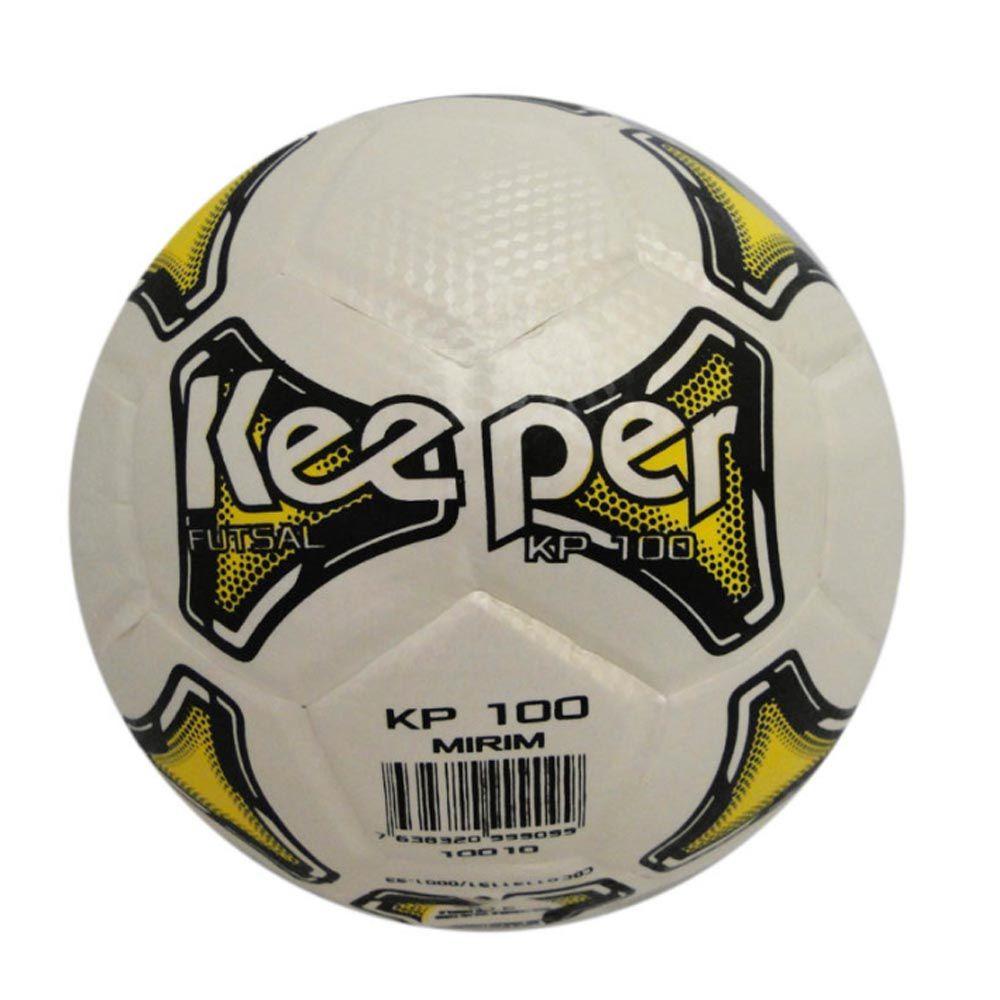 Bola de Futebol de Quadra Salão - Futsal - M100- Mirim- Keeper - Loja 22e1912edcacf