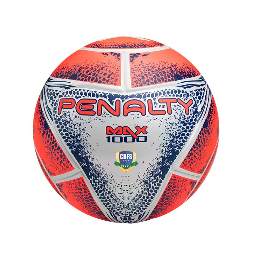 Bola de Futebol de Quadra/Salão - Futsal - Max 1000 FPFS - Penalty  - Loja do Competidor