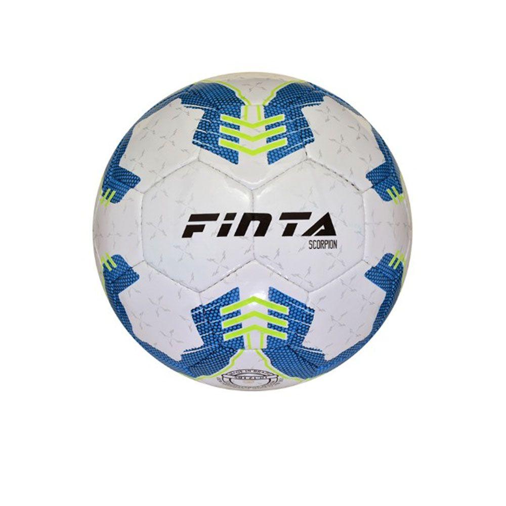 Bola Futebol de Quadra Salão - Futsal - Scorpion  32 Gomos - Costurada- Finta