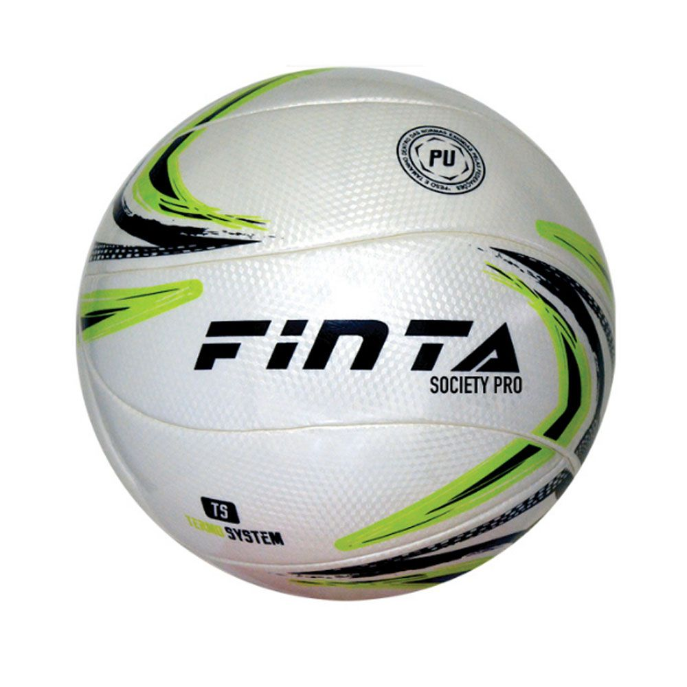 Bola de Futebol Society Pro - Volare Termo System- 12 Gomos - Finta