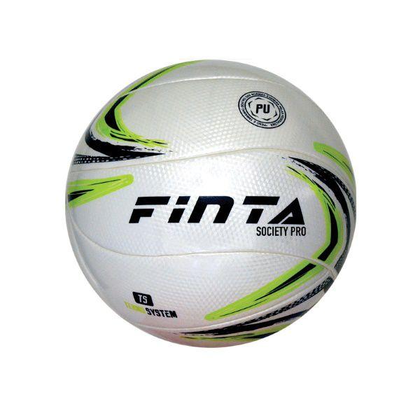 Bola de Futebol Society Pro - Volare Termo System- 12 Gomos - Finta  - Loja do Competidor