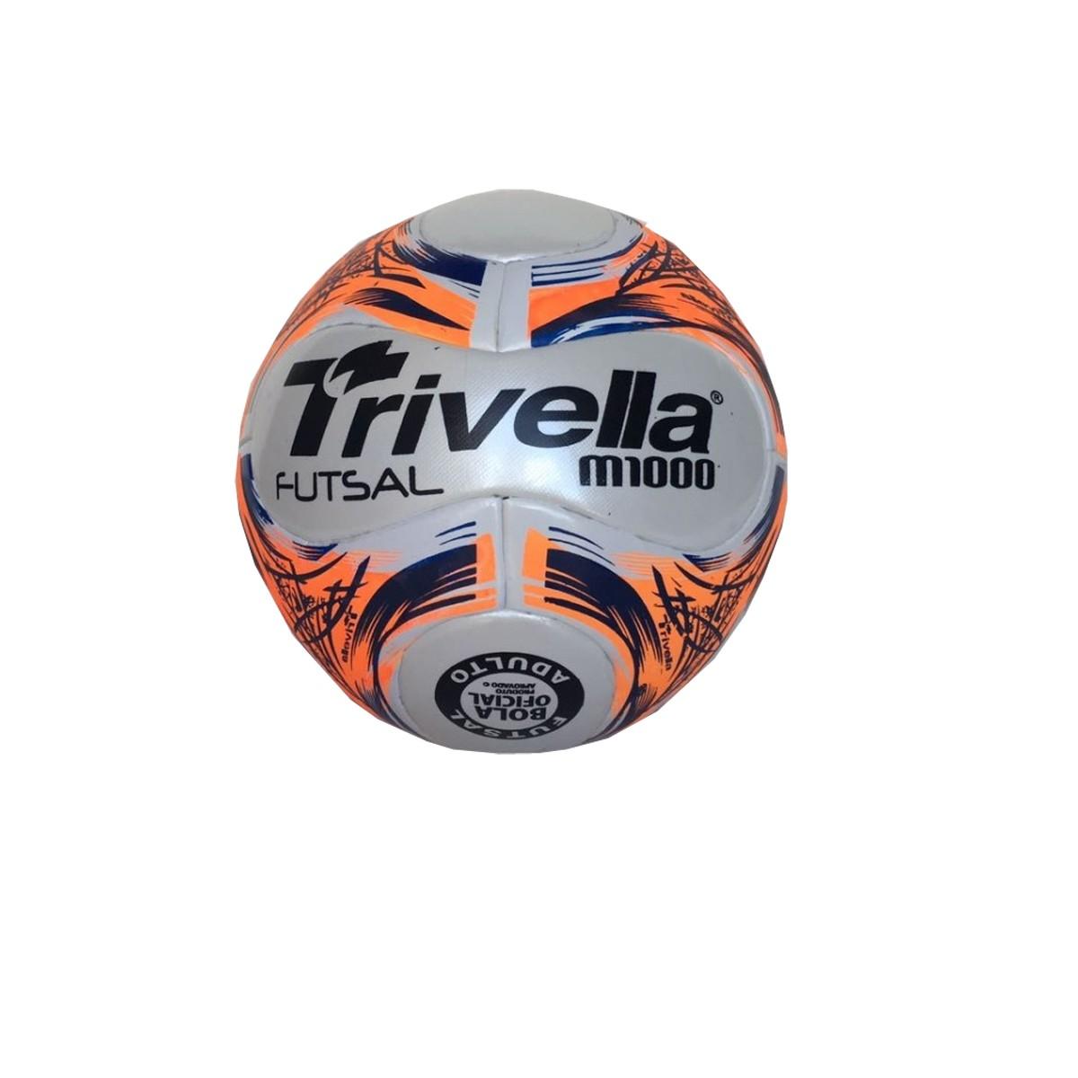 Bola de Futsal Salão M1000 - 14 Gomos - Trivella  - Loja do Competidor