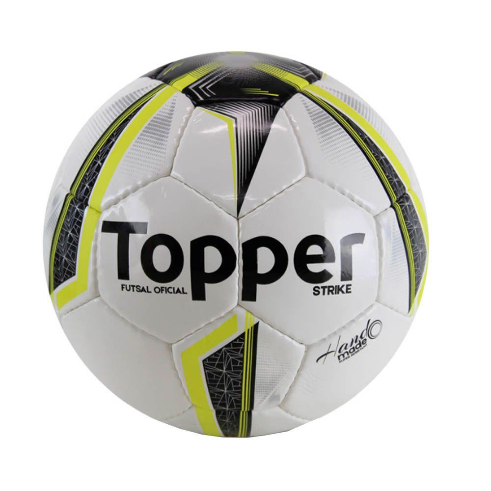 Bola de Futsal Salão - Strike IX - 32 Gomos - Topper  - Loja do Competidor