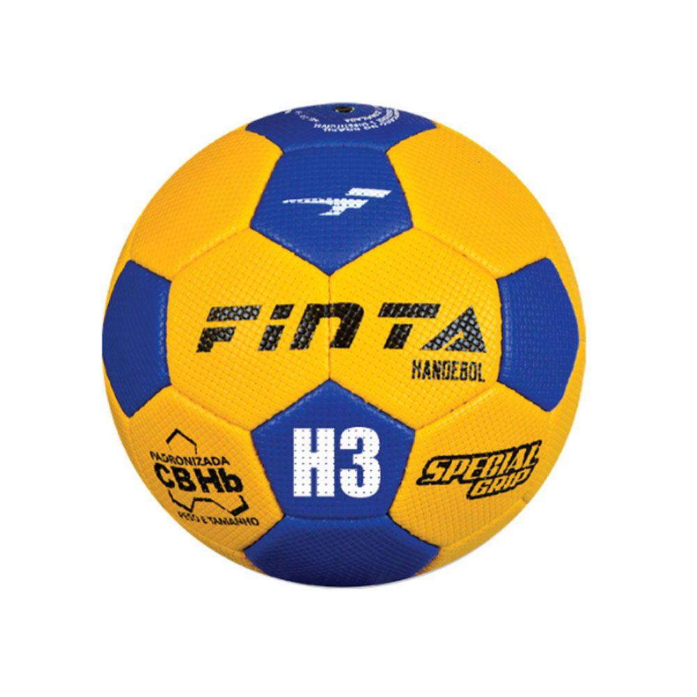 Bola de Handball Handebol H3L - Maculino - Costurada - Finta